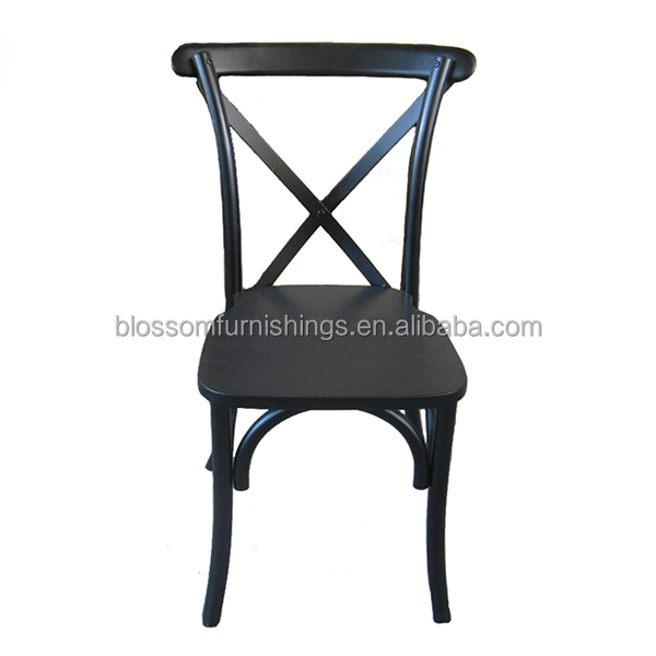 Black Cross Back Chair, Black Cross Back Chair Suppliers And Manufacturers  At Alibaba.com