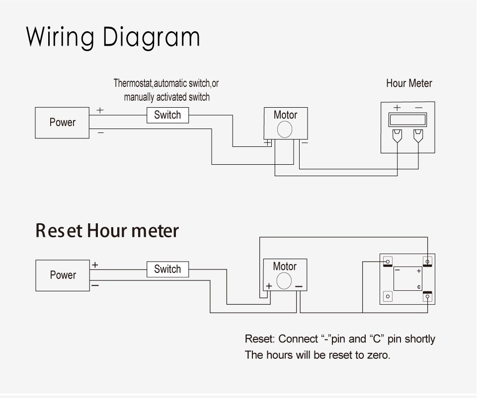 hour meter wiring diagram   25 wiring diagram images