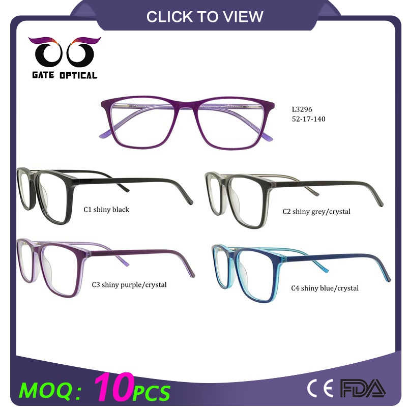 2016 Fashion eyewear optics frame acetate children glasses price