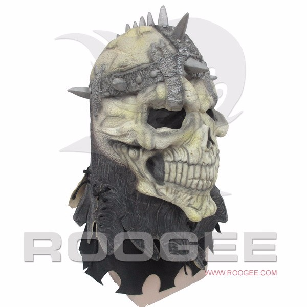 Halloween Terror Skull Full Head Mask Masquerade Party Cosplay Halloween Latex Mask