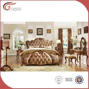 Beautiful Luxury Dubai Bedroom Furniture Set