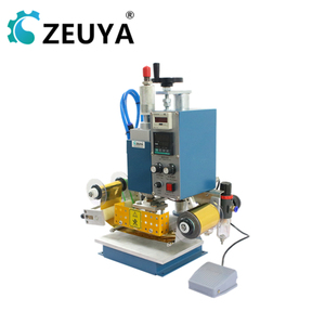 Wholesale Price Foil Feeding System PVC leather hot foil stamping machine 10*13CM Trade Assurance