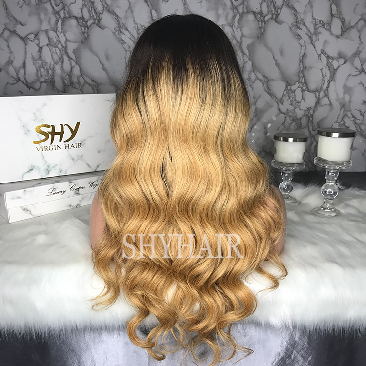 High Density Body Wave Two Tone Ombre www lace front wigs Small Cap More Baby Hair