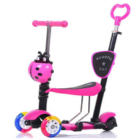 2018 Multi Functional Kids Scooter 5 in1and 3 in 1 Children Scooter