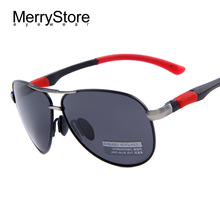 2015 New Men Brand Aviator Sunglasses HD Polarized Glasses Men Brand Sport Polarized Sunglasses High quality With Original Case