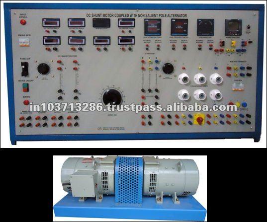 Dc Shunt Motor Coupled To Non-salient Pole Alternator - Buy Dc Shunt on