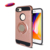 For iPhone 6 6s 7 Plus Mobile Phone Cover Magnetic Car Holder Kickstand Back Cover Finger Ring Stand Phone Case