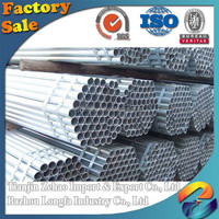 ASTM A53 / BS1387 / EN39 standard Hebei carbon steel pipe company for commerical