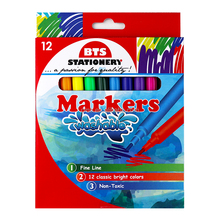 The Best Markers for Drawing with Fine Tips in Color Box