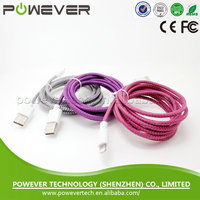 High quality Colorful MFi cable, mfi usb cable, mfi certified cable wholesale price