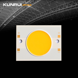 Round Circular Array Stable CRI70 50W COB LED Chip 187LM/W