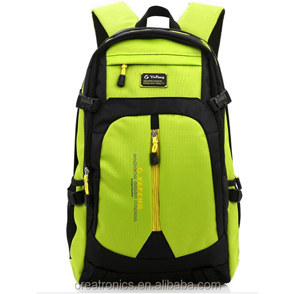 ICTI Factory pu leather shenzhen backpack