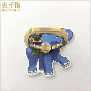 Custom logo many design phone finger ring holder hot sale