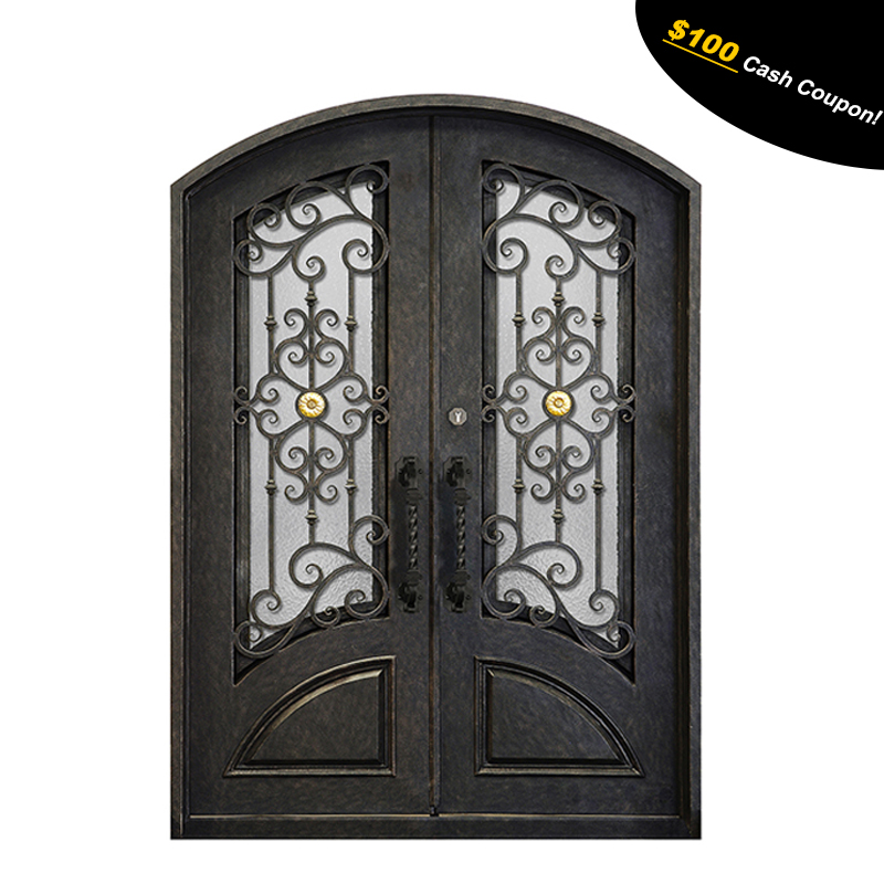 Give $500 cash coupon wrought iron front <strong>door</strong>