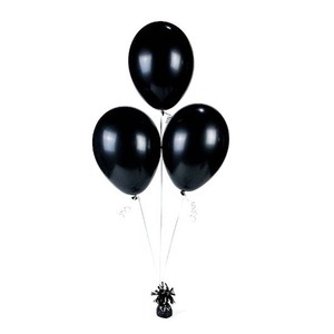 A Black Balloon Inside Balloons Delivered