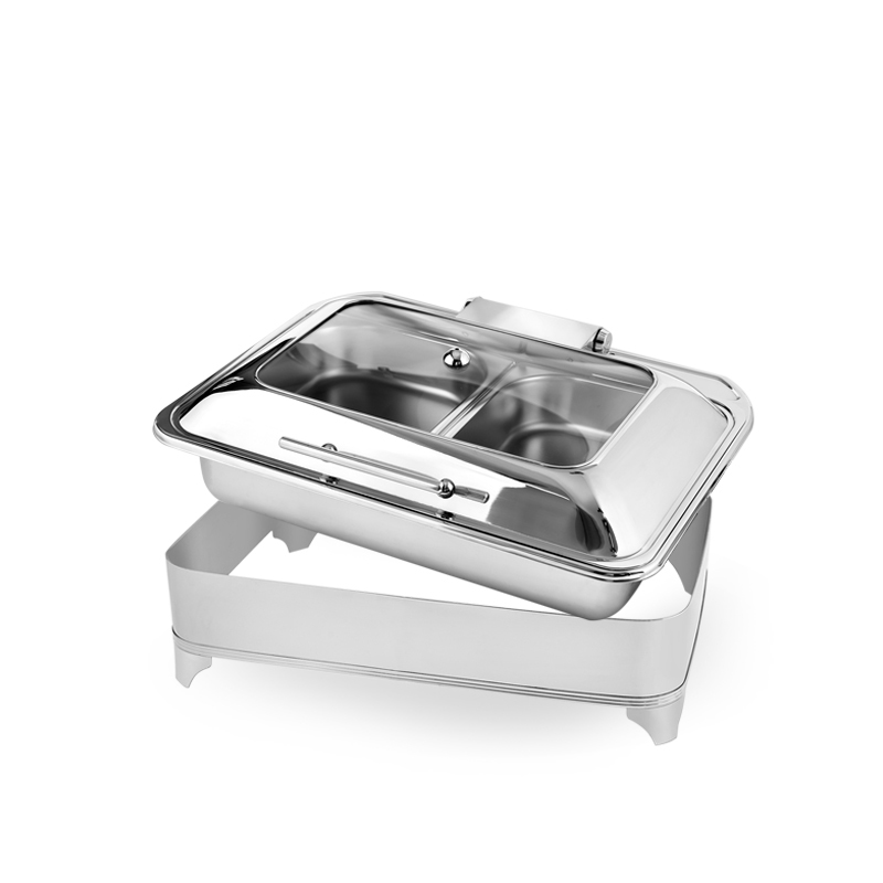 New Product Meal Stove Rectangular Electric Buffet Stove Chafing Dish