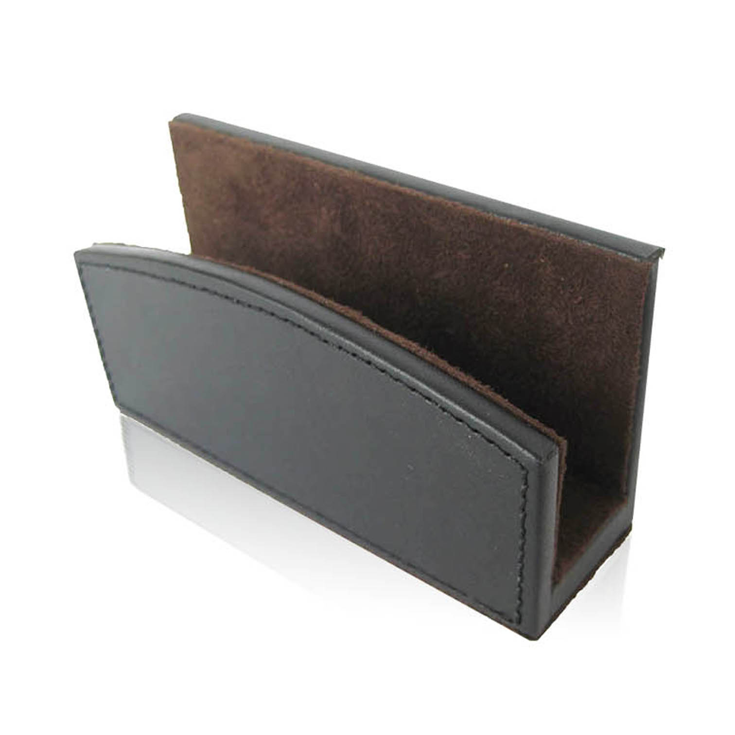 Wholesale handmade high quality hard leather office stationery