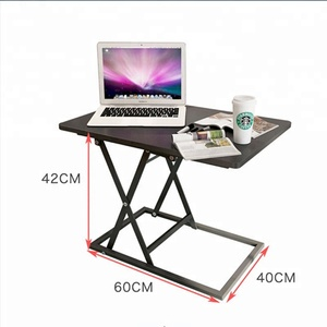 Office computer desktop stand table folding computer desk laptop table