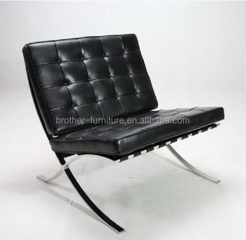 Replica Chair Designer Furniture Leather Sofa Barcelona Chair From  Guangdong Factory