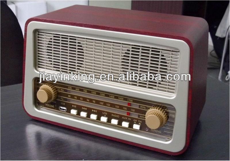 Design Retro Rádio AM/FM-Rádios Para Casa-ID Do Produto