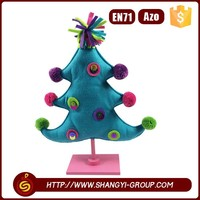Tree shape beautiful christmas ornaments hot sale arts and craft supplies bulk