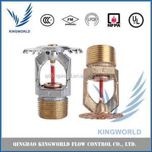 Extended Coverage Upright and Pendent Sprinklers Decorative Glass- bulb