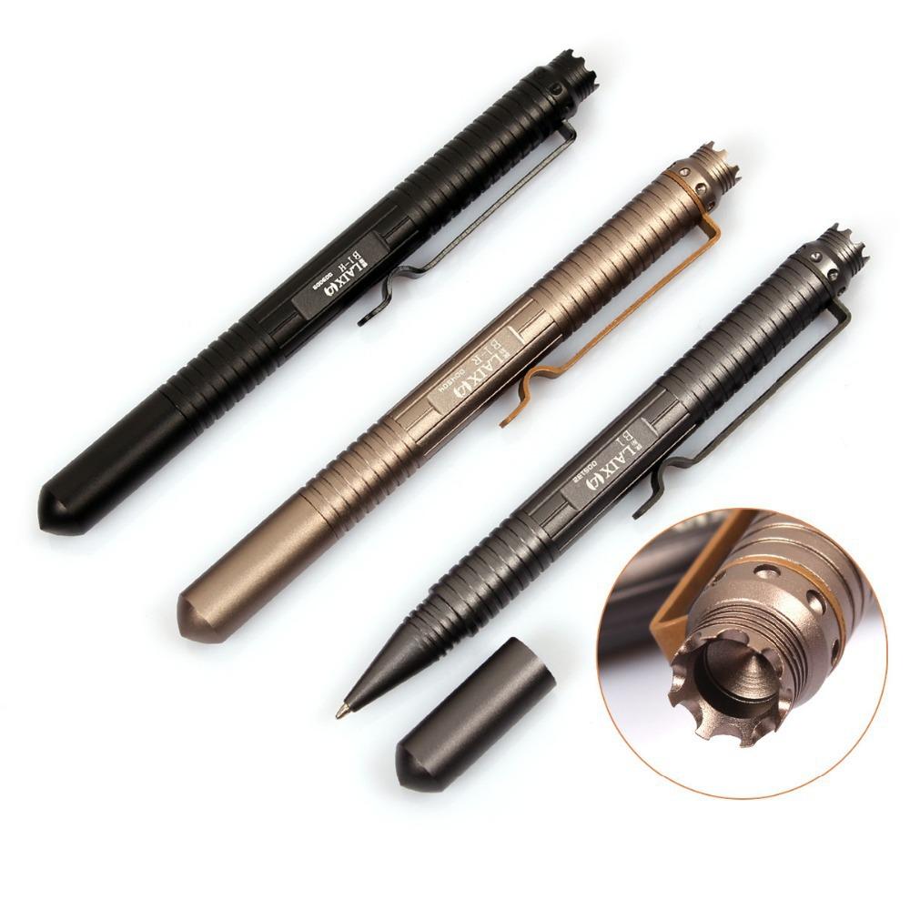 Бесплатная доставка тактический ручка самообороны в1 инструмент авиационного алюминия противоскольжения портативный инструмент гвардии ручка