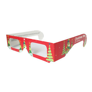 Holidays Diffraction Glasses Christmas Tree 3D Fireworks Glasses Crazy Party Glasses