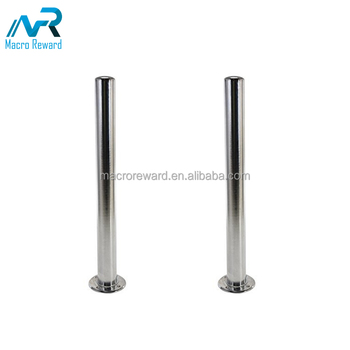 High Quality stainless Steel Road Bollard Removable Parking Bollards for sale