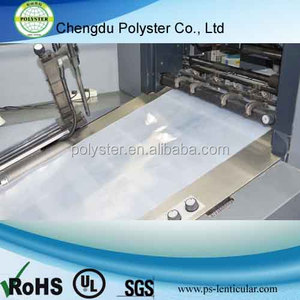 Blank PET or PP 3D Lenticular Sheets