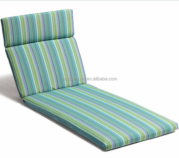 Outdoor Chaise Lounge Cushion Patio Furniture Waterproof Factory