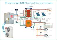 Macon air source heat pump,high efficiency heat pump,china heat pump split