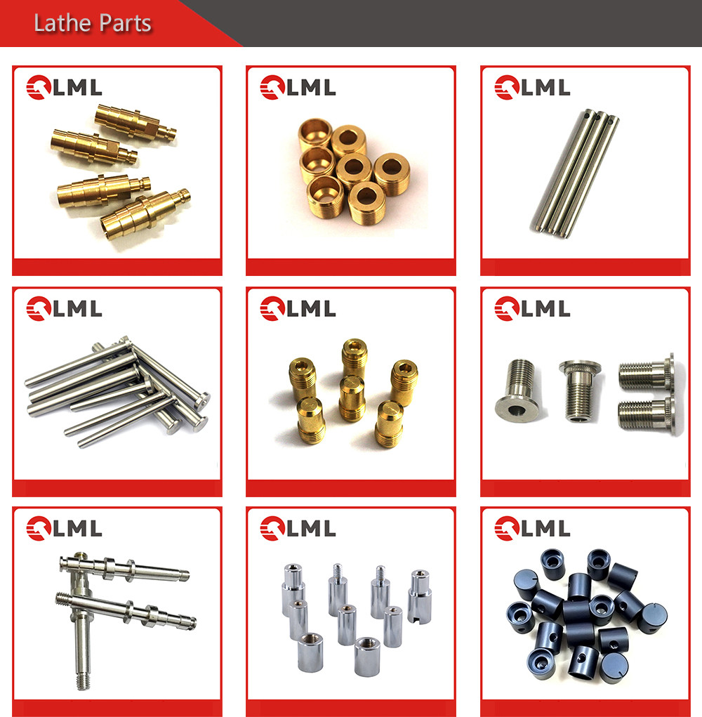 Custom Cheap Stainless Steel And Brass Machining Products Made By Lathe, Small Machined Aluminum Parts Factory