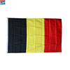 Cheap customized Belgium polyester flag