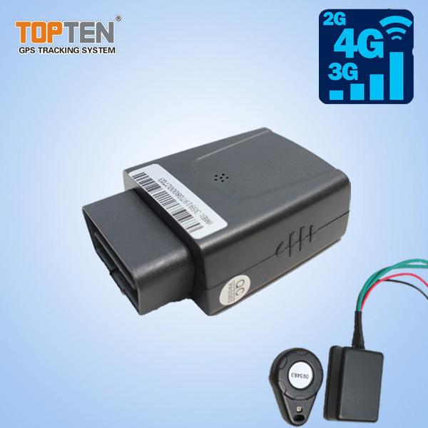 3G OBD Mini GPS Tracking Supporting Phone Android and IOS App Tracking