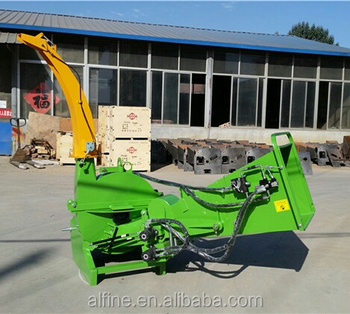 CE approve tractor PTO driven bx62r wood chipper