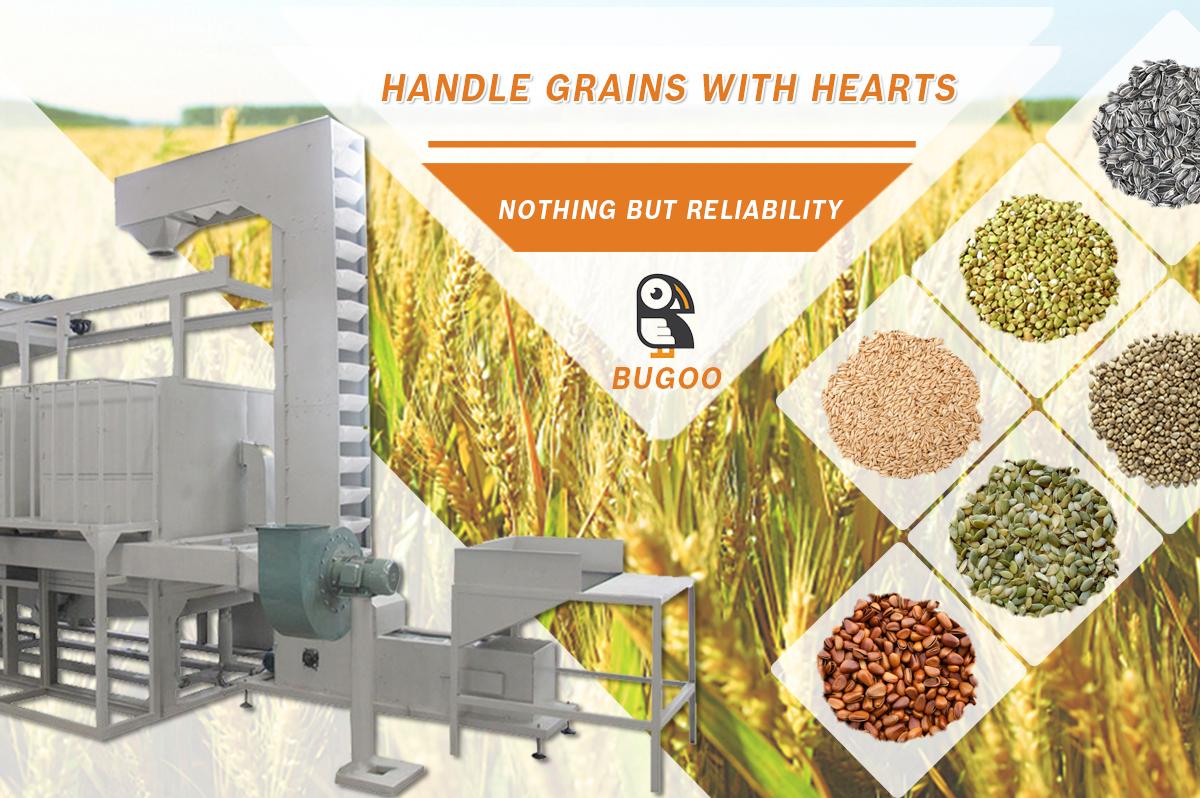 Dalian Bugoo Engineering Co , Ltd  - sunflower seed shelling machine