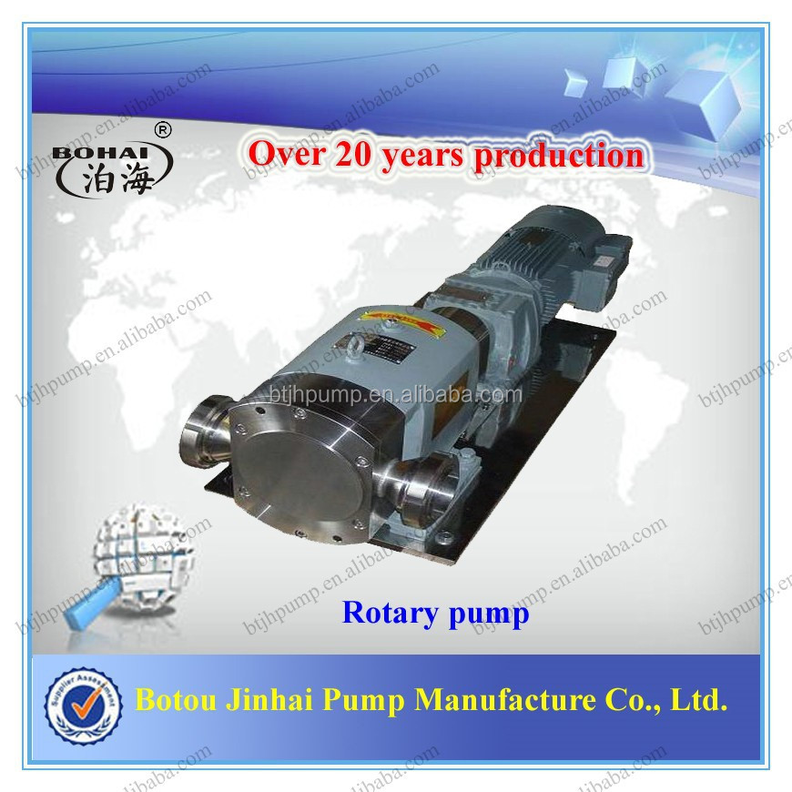 LQ3A Stainless Steel High Viscosity Food Grade Pumps Edible Vegetable Oil Pump Palm Oil Pump