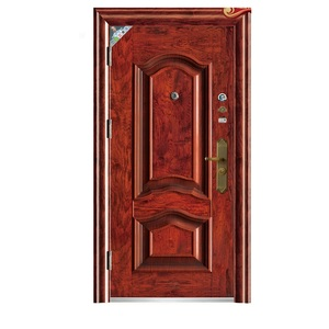 Mexican style exterior steel wooden entry turkey style armored door