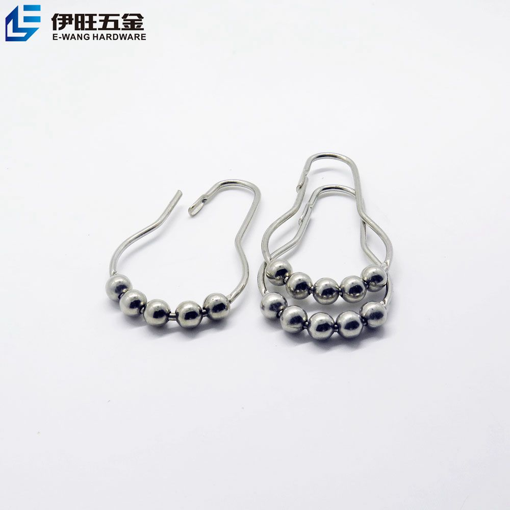 Metal Shower Curtain Hooks, Metal Shower Curtain Hooks Suppliers And  Manufacturers At Alibaba.com