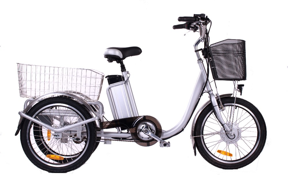 Best Selling E Trike 3 Wheel Electric Bicycle With Bafang Motor