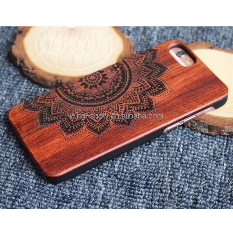 hot selling real wooden mobile phones covers for iphone 6S,mobile accessories