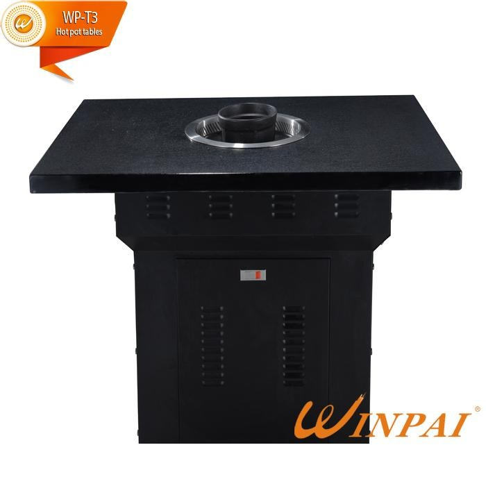 Hot Pot And BBQ Grill Table For Sale-Winpai-2