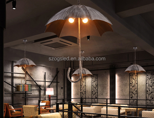 Bar Lighting Antique Umbrella Shaped Hanging Pendant lamps for Cafe