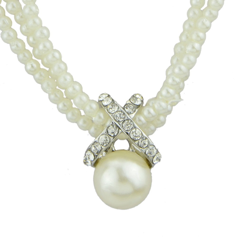 Wholesale Simple Imitation Modern Pearl Necklace Designs - Buy ...