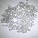 hpht cvd crystal synthetic white diamond stone for gems, Zhong Diamond