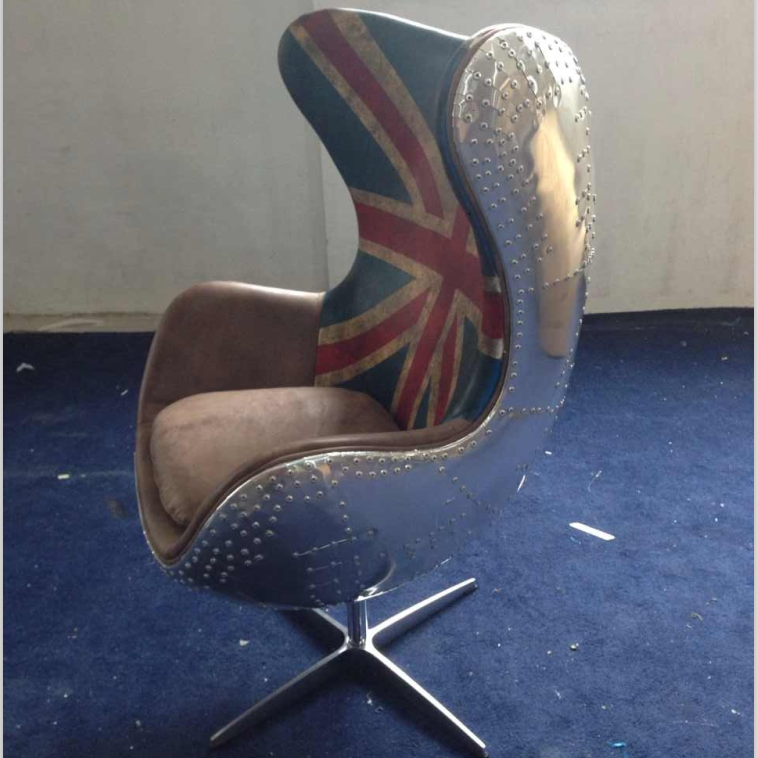 Aluminium Covered Aviator Union Jack Egg Chair   Buy Aluminium Covered  Aviator Union Jack Egg Chair,Aluminium Covered Aviator Union Jack Egg Chair,Aluminium  ...