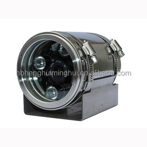 CCTV stainless steel explosion proof cctv camera ex-proof IR camera housing HR104