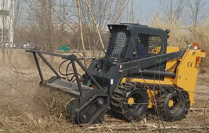HCN 0513 Skid steer attachment forestry mulcher,quick attach from HCN  factory, View forest mulcher, HCN Product Details from Xuzhou HCN Machinery