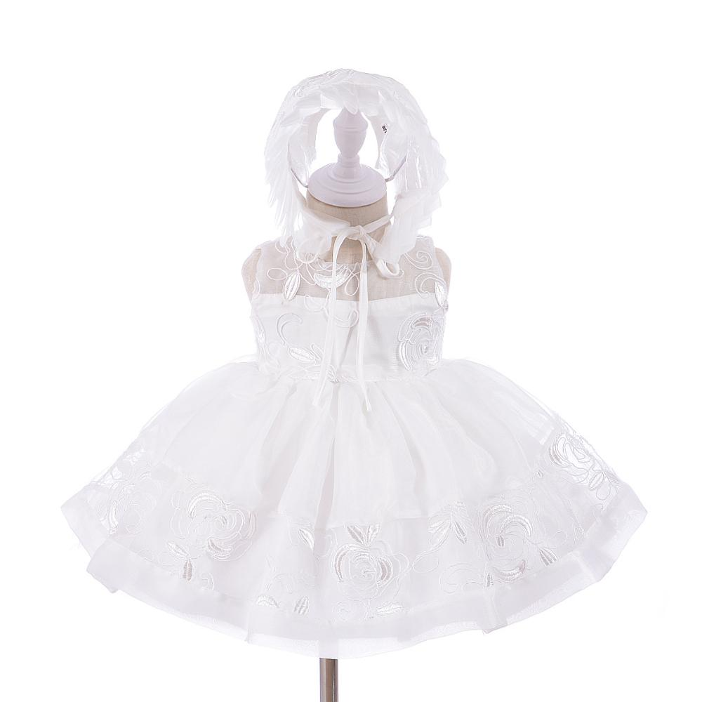 ce7b40373 Baby Girls Infant Baptism Dresses for Baby Baptism Clothes White Toddlers  baptism dress
